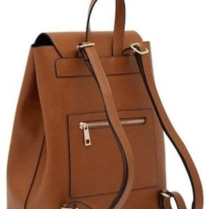 Abree Saddle Leather Backpack